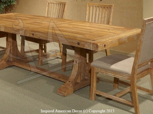 Rustic Timber Dining Table